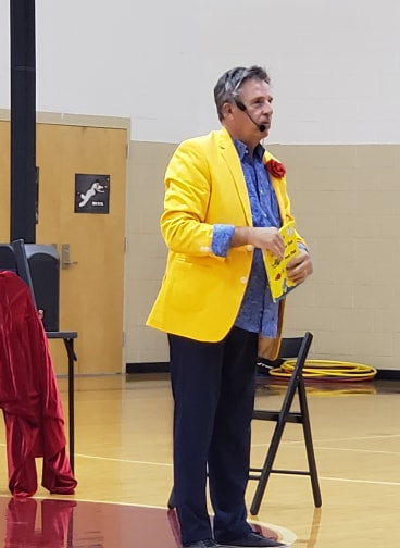 Magic Show- Roger Wayne Despard at Roundstone Elementary School