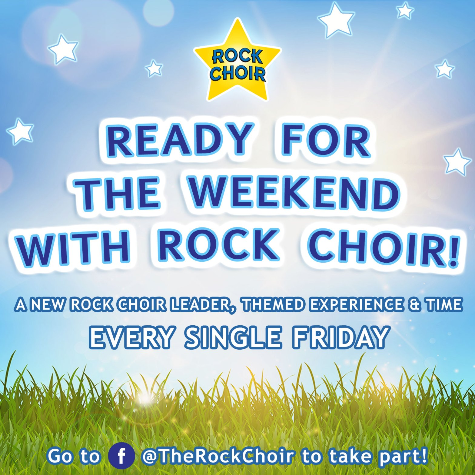 Ready for the Weekend with Rock Choir