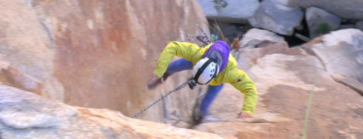 Lead Climber Fall
