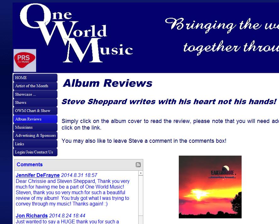 oneworldmusic earthshine