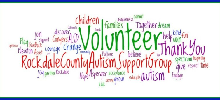 RCASG Word Cloud Volunteer