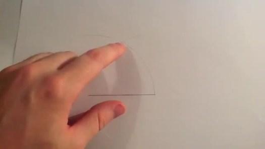 drawing of 60 degree angle