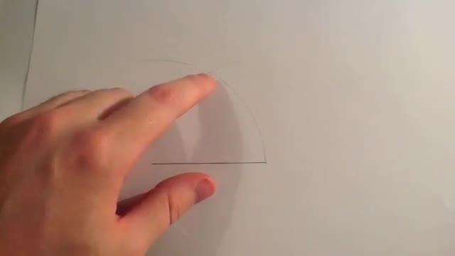 drawing of 60 degree angle