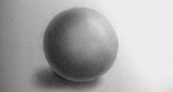 how to draw sphere steps