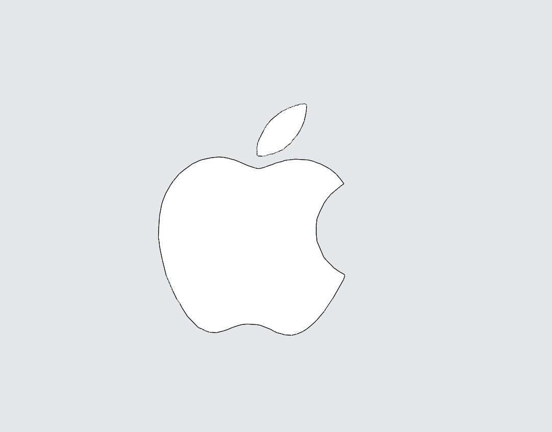 How To Draw The Apple Logo Step By Step
