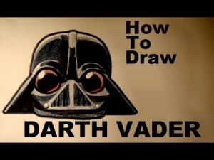 How to draw angry bird easy darth vader