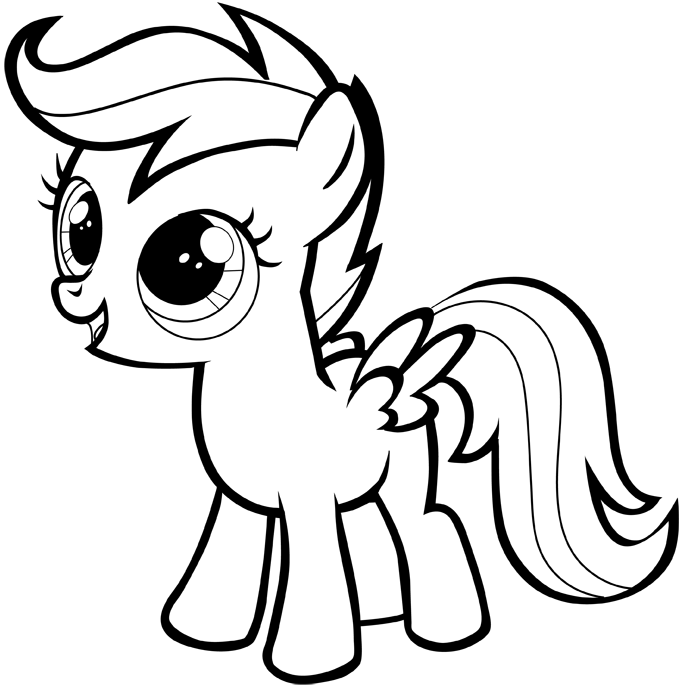 30 easy to draw mlp pony hairstyles hairstyles ideas walk the falls MLP Wolf Pony draw little pony easy