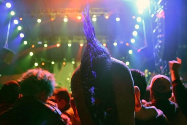 Las mejores fotos de conciertos no son de la banda que toca