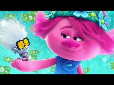 TROLLS 2 WORLD TOUR Trailer # 2 (Animation, 2020) NEW