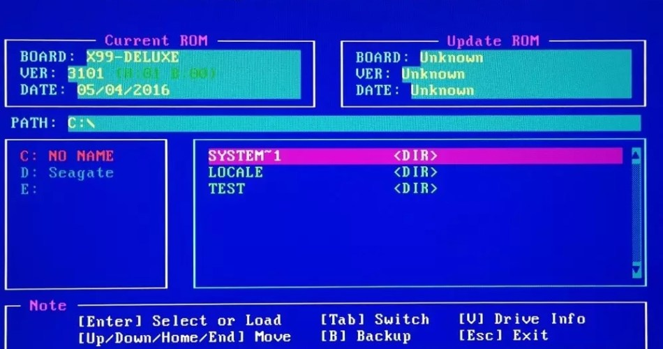 How To Update Bios?