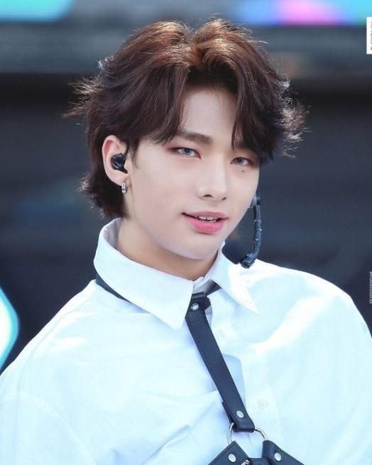 Hyunjin Hairstyle