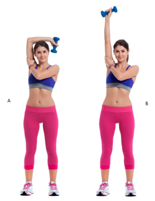 Two Arm Triceps Extension