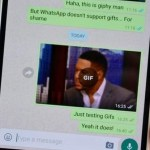 how to send a gif on whatsapp