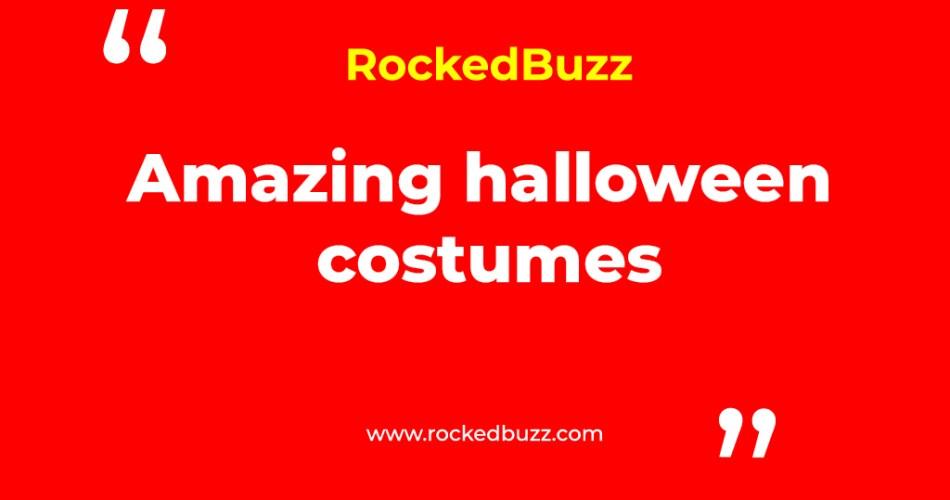 Amazing halloween costumes rockedbuzz