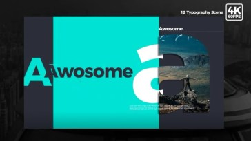 After Effects Typography Templates