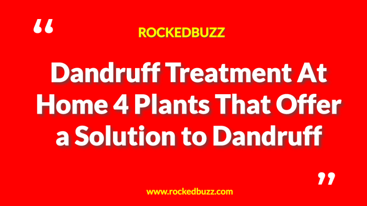 Dandruff Treatment At Home