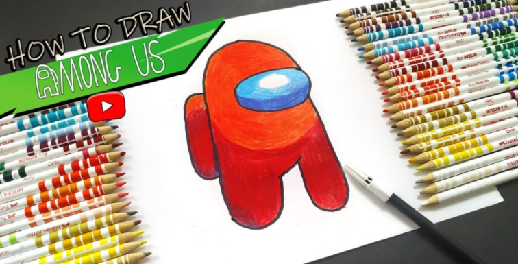 How To Draw Among us