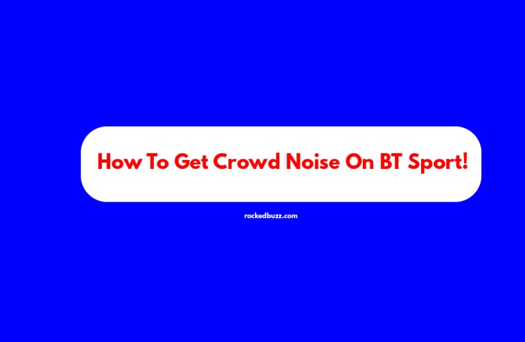 How To Get Crowd Noise On BT Sport