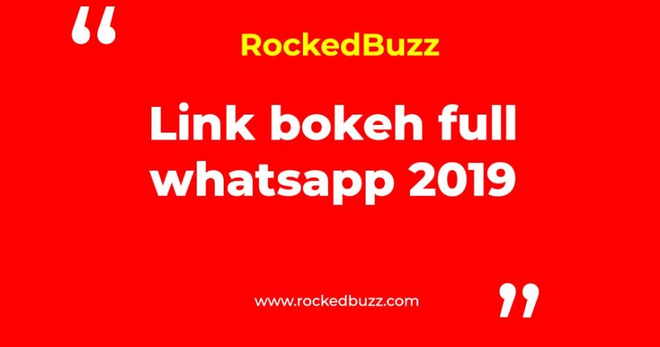 Link bokeh full whatsapp 2019