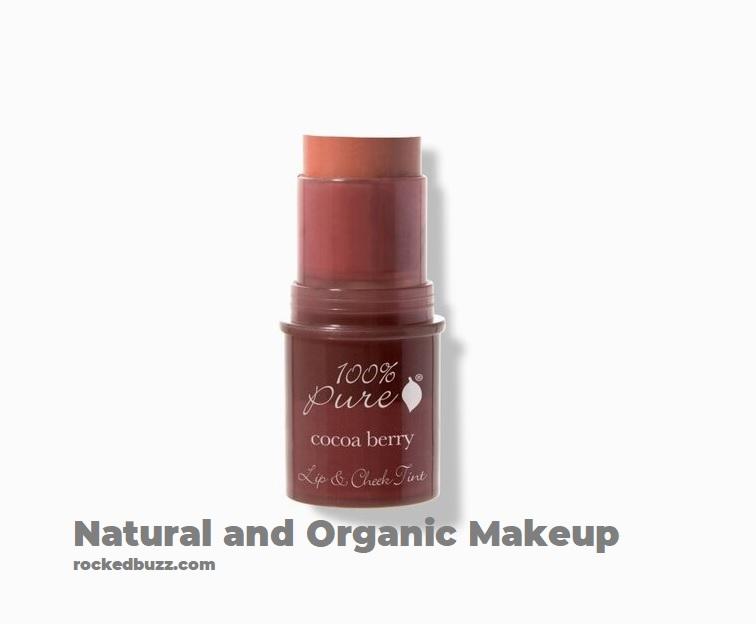 Natural and Organic Makeup 100 pure