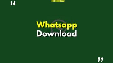 Whatsapp 下载