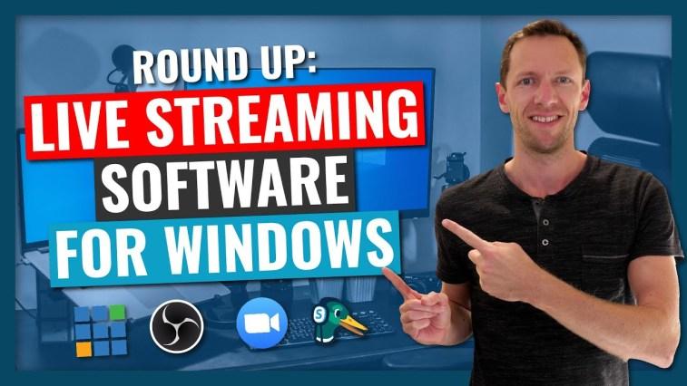 Best Live Stream Software