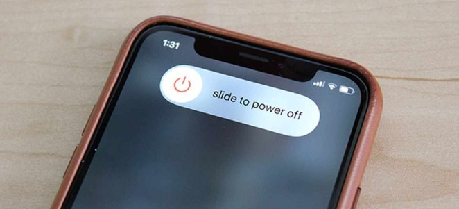 how to turn off iphone