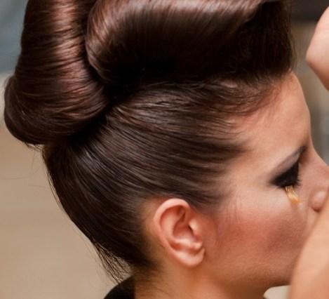 French bun hairstyle