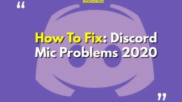 Fix Discord Mic Problem