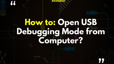 Open USB Debugging Mode from Computer