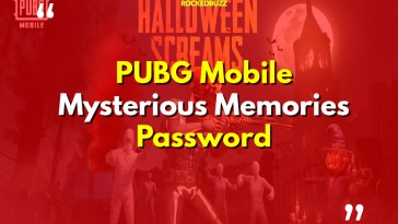 PUBG Mobile Mysterious Memories Password
