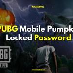 PUBG Mobile Pumpkin Locked Password