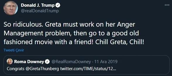 Greta Thunberg Trolled Donald Trump