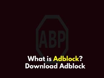 Download Adblock free