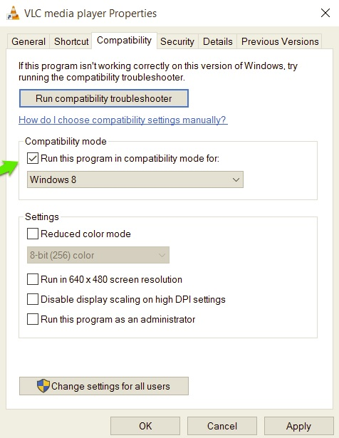 The version of this file is not compatible with the version of Windows you are running