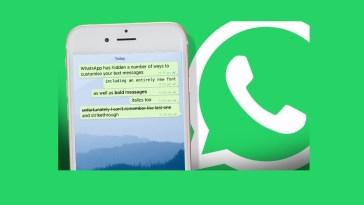 WhatsApp Font Styles