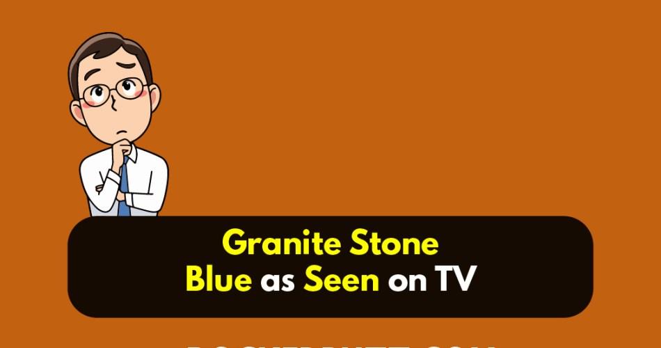 Granite Stone Blue as Seen on TV