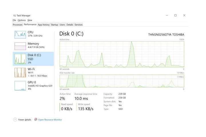 Windows 10 Task