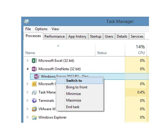 Windows 10 Task Manager 2