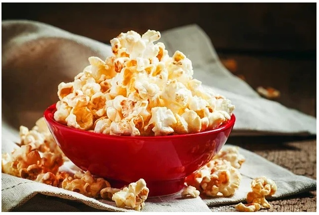 Low Calorie Foods Popcorn