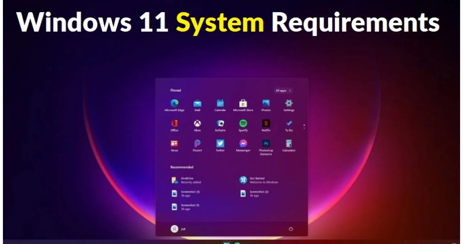 Windows 11 System Requirements