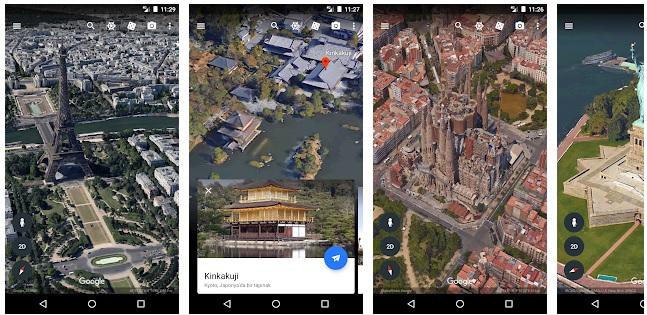 تطبيق قوقل ايرث تحميل google earth