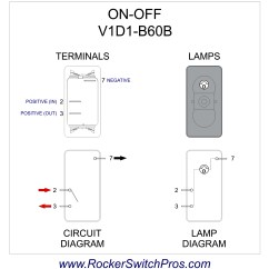 Lighted Rocker Switch Wiring Diagram Microsoft Office Template On Off Spst 1 Dep Light V1d1