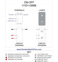 backlit rocker switch on off spst 1 ind 1 dep light home toggle switch wiring diagram [ 1845 x 1742 Pixel ]