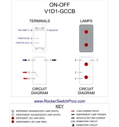 led rocker switch red on off rocker switch pros 6 pin cdi wiring diagram [ 1845 x 1742 Pixel ]