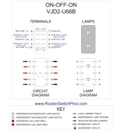 flasher wiring diagram dpdt rocker switch [ 1845 x 1742 Pixel ]