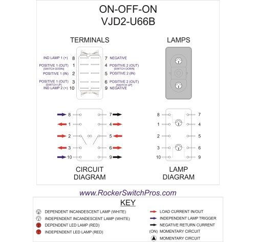 small resolution of  flasher wiring diagram dpdt rocker switch