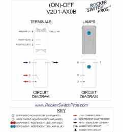 momentary blue light rocker switch [ 1845 x 1742 Pixel ]