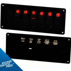 Narva Rocker Switch Wiring Diagram Farmall Super H Pros Custom Switches Night Readable Gallery