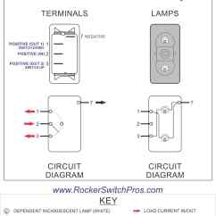 On Off Switch Wiring Diagram How To Draw Foreign Key In Er V6d1 Rocker Spdt 2 Lights